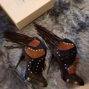NEW Authentic Burberry Runway Lilybell Ankle Boot